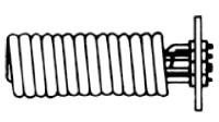 Теплообменник Stiebel Eltron WTW 21/13 для бойлеров SB 302-402 S, 12.0 квт