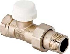 """Клапан термостатический Valtec 1/2"""" Вр-Нр прямой, пропускн. способн. 1.2 м3/час"""