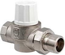 """Клапан термостатический Valtec 3/4"""" Вр-Нр прямой, пропускн. способн. 3.82 м3/час"""