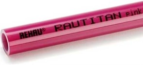 Труба Rehau Rautitan PINK 20 x 2.8
