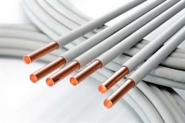 Труба медная MKM Hetcu-Plus отожженная в пластике (в бухтах) 10 x 1.0