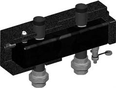 "Гидрострелка Meibes 1 1/2"" для V-UK/V-MK, 4.5 м3/ч, 125 кВт (дельта Т=25°)"