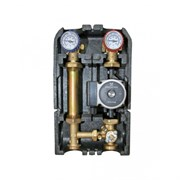 """Насосная группа Barberi с термостатическим смесителем клапаном 1"""" без насоса (02G02500X)"""