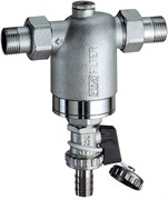 """Фильтр для воды FAR хромированный 300мкм без манометра 1/2"""" НР-НР (FA 3943 12)"""