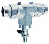 """Фильтр для воды FAR хромированный 300мкм без манометров 1 1/4"""" НР-НР (FA 3932 114)"""