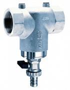 """Фильтр для воды FAR хромированный 300мкм с манометрами 2"""" ВР-ВР (FA 3941 2)"""