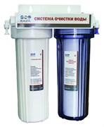 Система очитки воды RAIFIL 2-х стадийная (PU 894-W2)