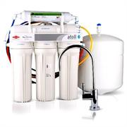 Система очитки воды ATOLL 5-х ступенчатая с обратным осмосом, баком и минерализатором (A-560Em lux)