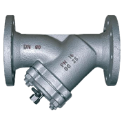 Фильтр сетчатый фланцевый Danfoss Y333P чугун с краном для слива Ду 80 Ру16 (149B3283)