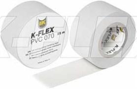 Скотч K-Flex PVC АТ 070, 38 мм х 25 м (серый)