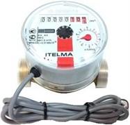 Счетчик горячей воды Itelma, Ду 15, L 80, импульсный выход
