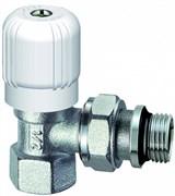 """Вентиль для радиатора ручной угловой FAR c уплотнением EPDM 1/2"""" (FV 1151 12)"""