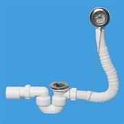 Сифон для ванны McALPINE ф40-50 (MRB1-EX)