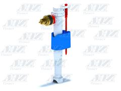 """Заливной клапан для бачка унитаза Ани Пласт, боковое подключение, латунный штуцер 3/8"""" (WC5040)"""