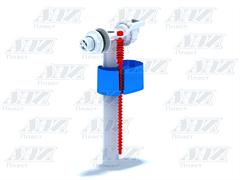 """Заливной клапан для бачка унитаза Ани Пласт, боковое подключение (эконом) 1/2"""" (WC5050)"""