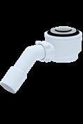 Трап для поддона тип кнопка с трубкой Ани Пласт ф40/50 с сеткой (E411CLS)