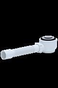 Трап для поддона тип кнопка с гофрой Ани Пласт ф40/50 (E415CL)
