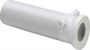 Труба фановая прямая со встроенным обратным клапаном длина 400мм Viega ф110 (134969)