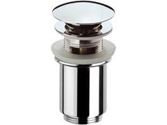 """Донный клапан для раковины с переливом нажимной Remer 1 1/4"""" (905CC114RR)"""
