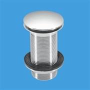 """Донный клапан для раковины нажимной McALPINE 1 1/4"""" (CWU60-CB)"""