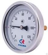 Термометр биметаллический Росма БТ-51, ф 100 мм, t 120°