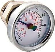 Термометр биметаллический Valtec ф 41 мм, t 80°, для коллекторных групп