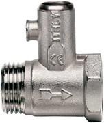 """Клапан предохранительный Itap для водонагревателя, с обратным клапаном, 1/2"""""""