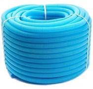 Гофра для трубы ф20 (размер гофры ф28) Uni-Fitt синяя, бухта 50 м.