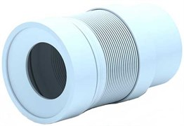 Гофра для унитаза Ани Пласт Ф110, длина 212-320мм (арт.K821)