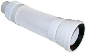 Гофра раздвижная для вентиляции канализации с прокладкой McALPINE Ф110, длина 464-974мм (FLX-V81)