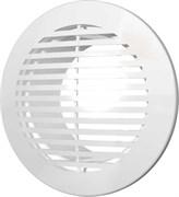 Решетка вентиляционная круглая, разъемная D145 с фланцем D100