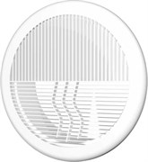 Решетка вентиляционная круглая, разъемная D143 с фланцем D100