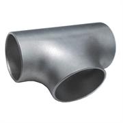 Тройник стальной оцинкованный равнопроходной Дн 114х4,0 (Ду 100) бесшовный ГОСТ 17376-2001