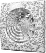 Вентилятор Эра D100 (25 дБ, обратный клапан), цвет white design