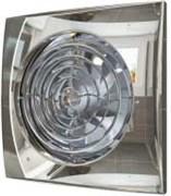 Вентилятор Эра D100 (25 дБ, обратный клапан), цвет chrome