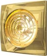 Вентилятор Эра D100 (25 дБ, обратный клапан), цвет gold