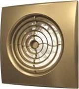 Вентилятор Эра D125 (30 дБ, обратный клапан), цвет champagne