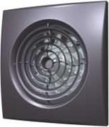 Вентилятор Эра D125 (30 дБ, обратный клапан), цвет dark gray metal