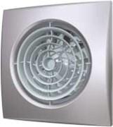Вентилятор Эра D125 (30 дБ, обратный клапан), цвет gray metal