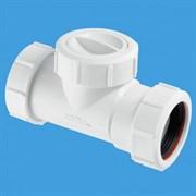 Канализационный обратный клапан McALPINE ф40 (T28M-NRV-40)