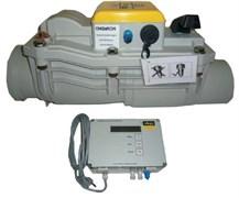 Канализационный обратный клапан Viega ф110, две заслонки с защитой от затопления (арт. 667788)