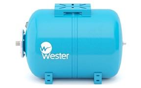 Гидроаккумулятор Wester горизонтальный 24 л (WAO24)