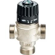 """Термостатический смесительный клапан Stout для систем отопления и ГВС 1"""" НР, 30-65°С, Kvs 2.3, центральное смешивание"""
