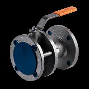 Кран шаровой стальной фланцевый LD КШ.Р.Ф.100/080.016.Н/П.02 Ду 150 Ру16