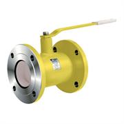 Кран шаровой газовый стальной фланцевый LD КШ.Ц.Ф.GAS.020.040.Н/П.02 Ду 20 Ру40
