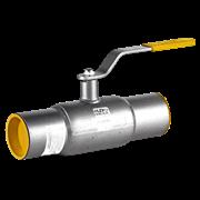 Кран шаровой стальной под приварку LD КШ.Ц.П.100/080.025.Н/П.02 Ду 100 Ру25