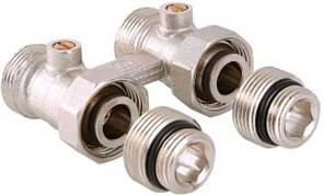 """Мультифлекс Valtec, для 2-трубной системы, прямой, 3/4""""ЕК ( + ниппель 3/4""""ЕК х 1/2"""")"""
