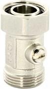 """Мультифлекс Uni-Fitt одинарный для 2х-трубной системы, прямой 3/4""""ЕК"""