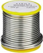 Мягкий припой Viega L-SN №3, Sn97Cu3, ф 3 мм, 250 гр