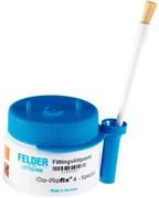 Флюс-паста с добавлением мягкого припоя Felder Cu-Rofix®4-Spezial, с серебром, с держателем  для кисточки, 250 гр